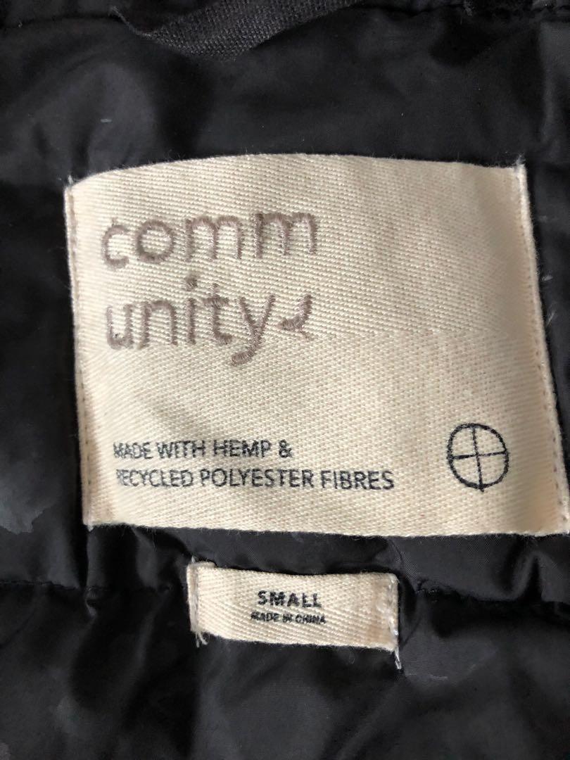 Aritzia Community Down-Filled Bomber Jacket