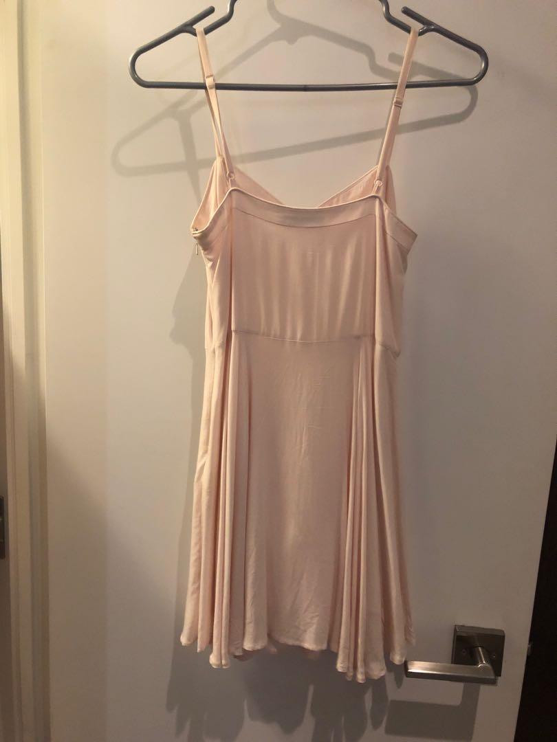 Aritzia Lipinski Talula Pink Dress