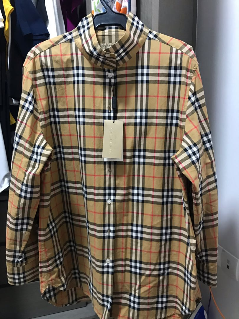 bca6f4cd4e Authentic Burberry Long Sleeves Top, Men's Fashion, Clothes, Tops on  Carousell