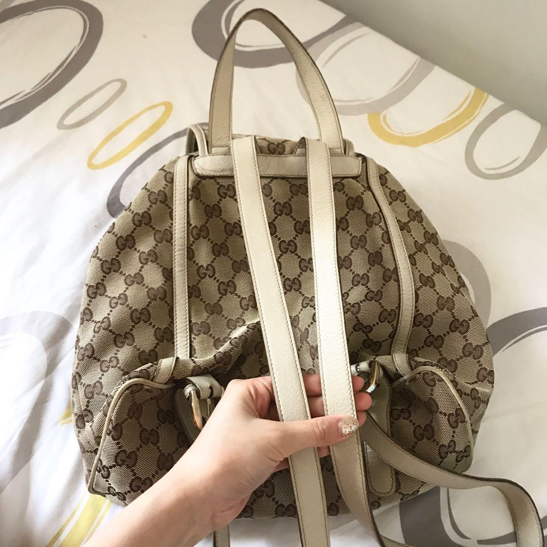 authentic gucci classic backpack