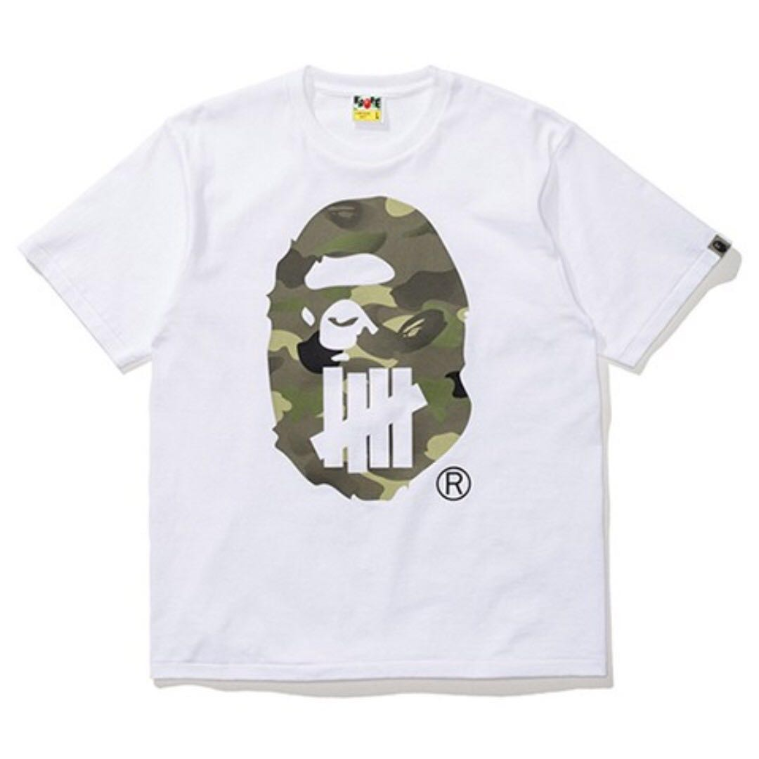 4b3b9876e BAPE x UNDEFEATED t shirt SS 17, Men's Fashion, Clothes, Tops on ...
