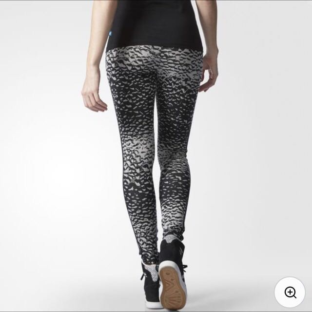 96bf39a8b3604 BNWT Adidas Women Originals Pavao Leggings, Women's Fashion, Clothes, Pants,  Jeans & Shorts on Carousell