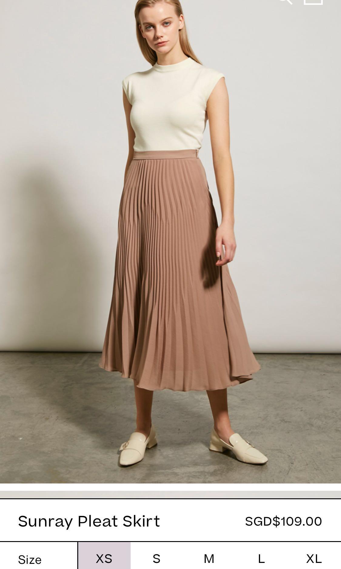 e53365048dc7 Ladies Sunray Pleated Skirts | Saddha