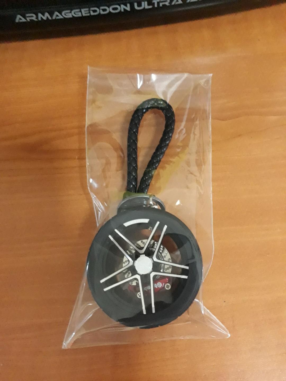 Car Tire Keychain