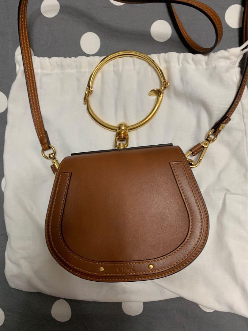 37b37c4040 Chloe Nile small handbag with strap, Women's Fashion, Bags & Wallets ...