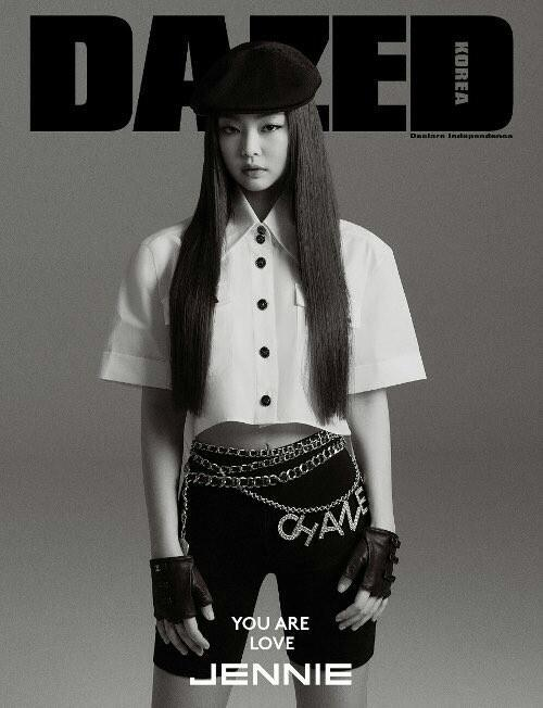 DAZED & CONFUSED MAGAZINE (APRIL'S ISSUE) - JENNIE (BLACKPINK)