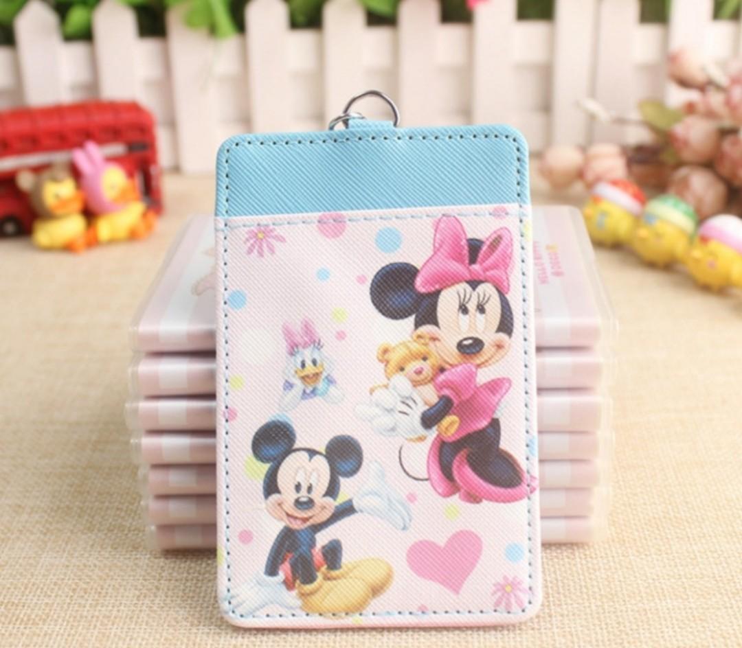 Disney Mickey Minnie Mouse Daisy Duck Teddy Bear Ezlink Card