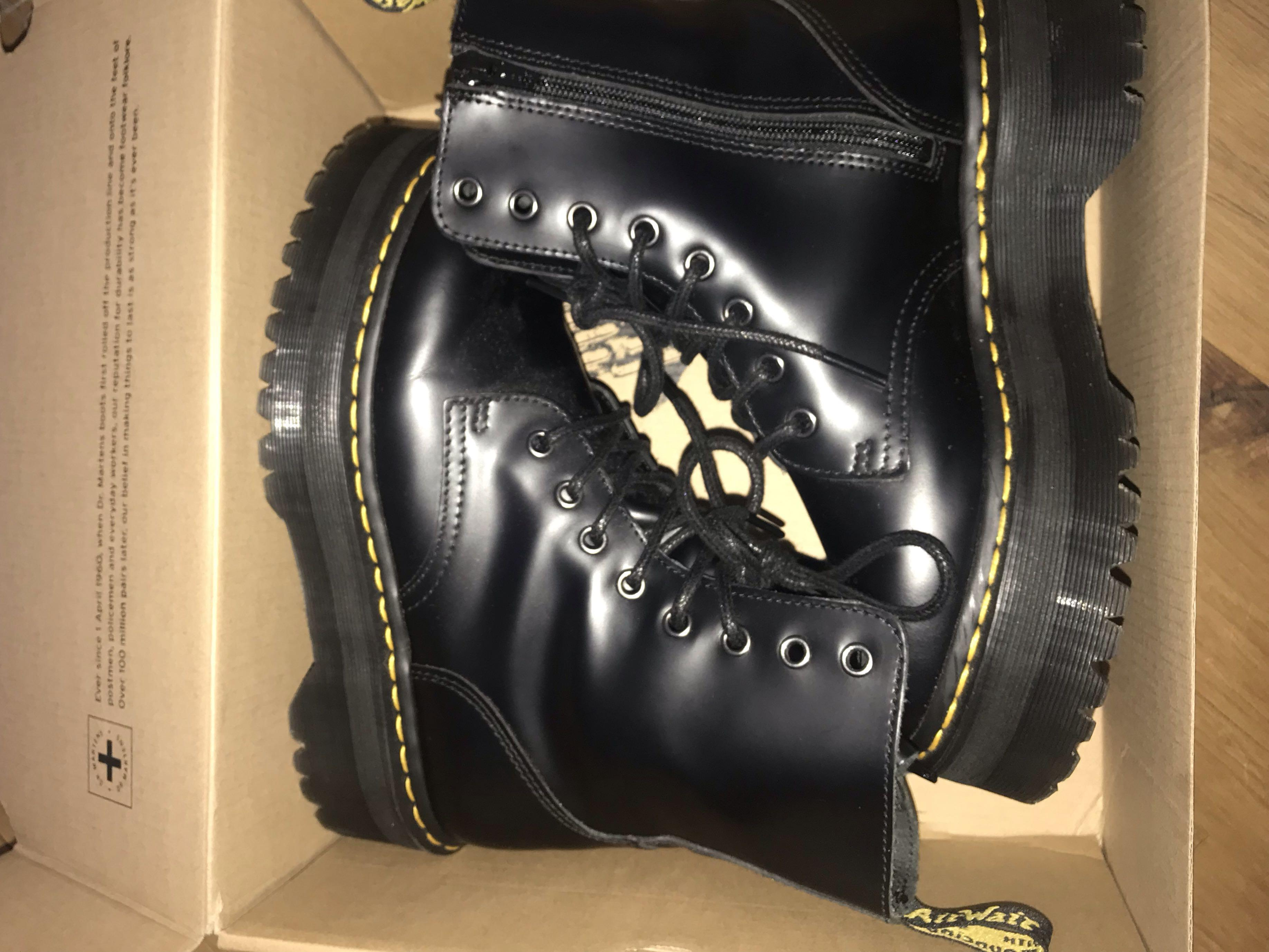 Doc Martens Jadon (Black) Boots