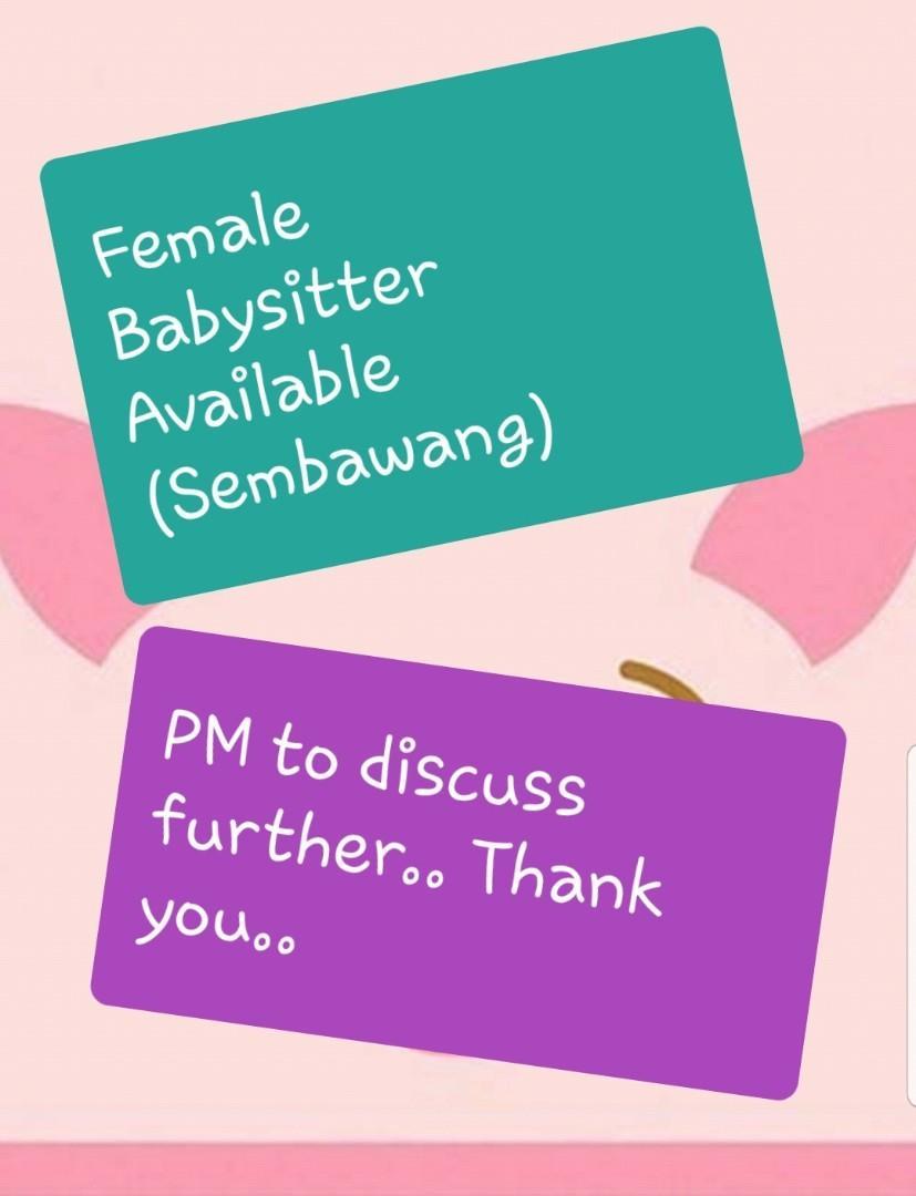 Female Babysitter Available