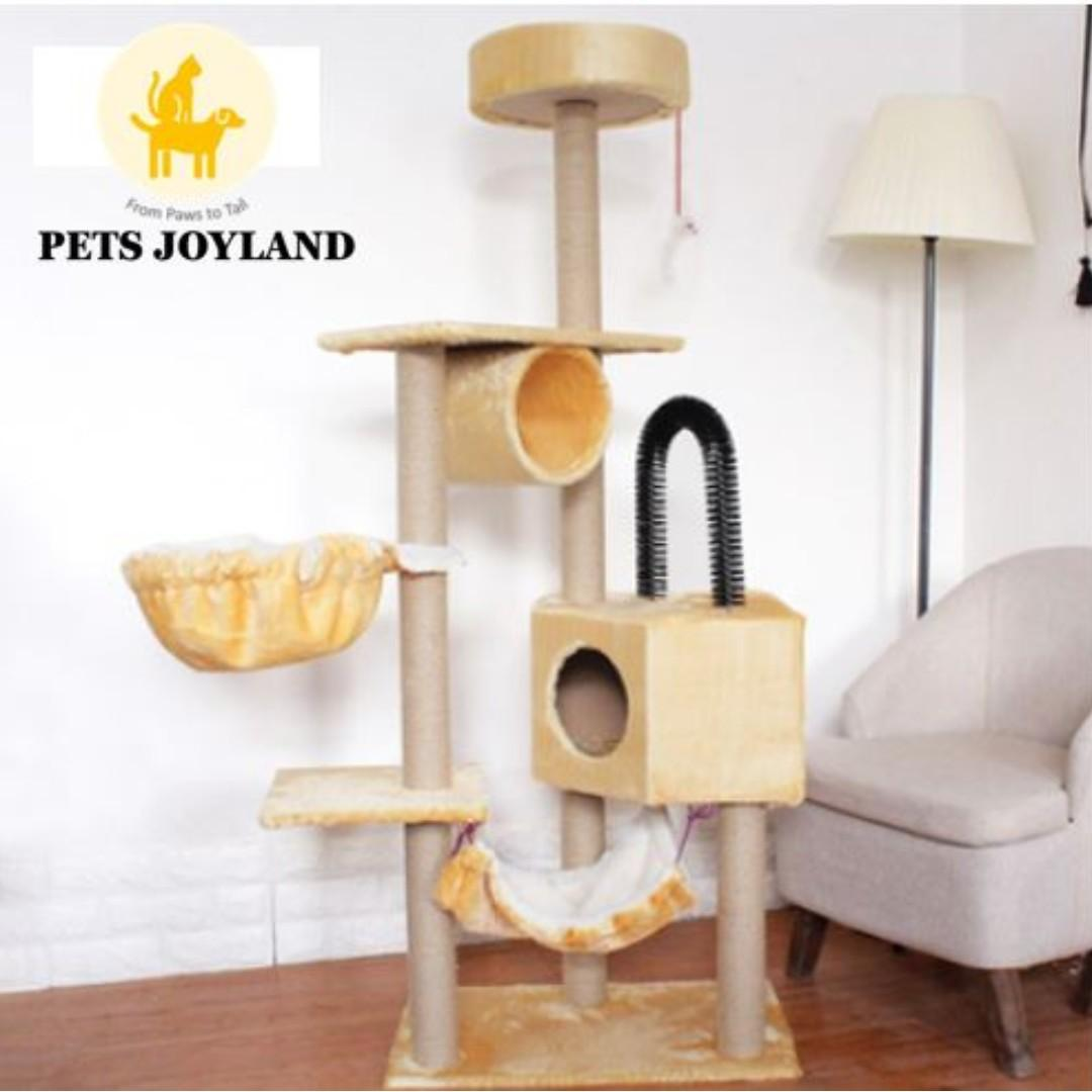 [FREE DELIVERY] 160cm Multi-level cat condo scratching tree
