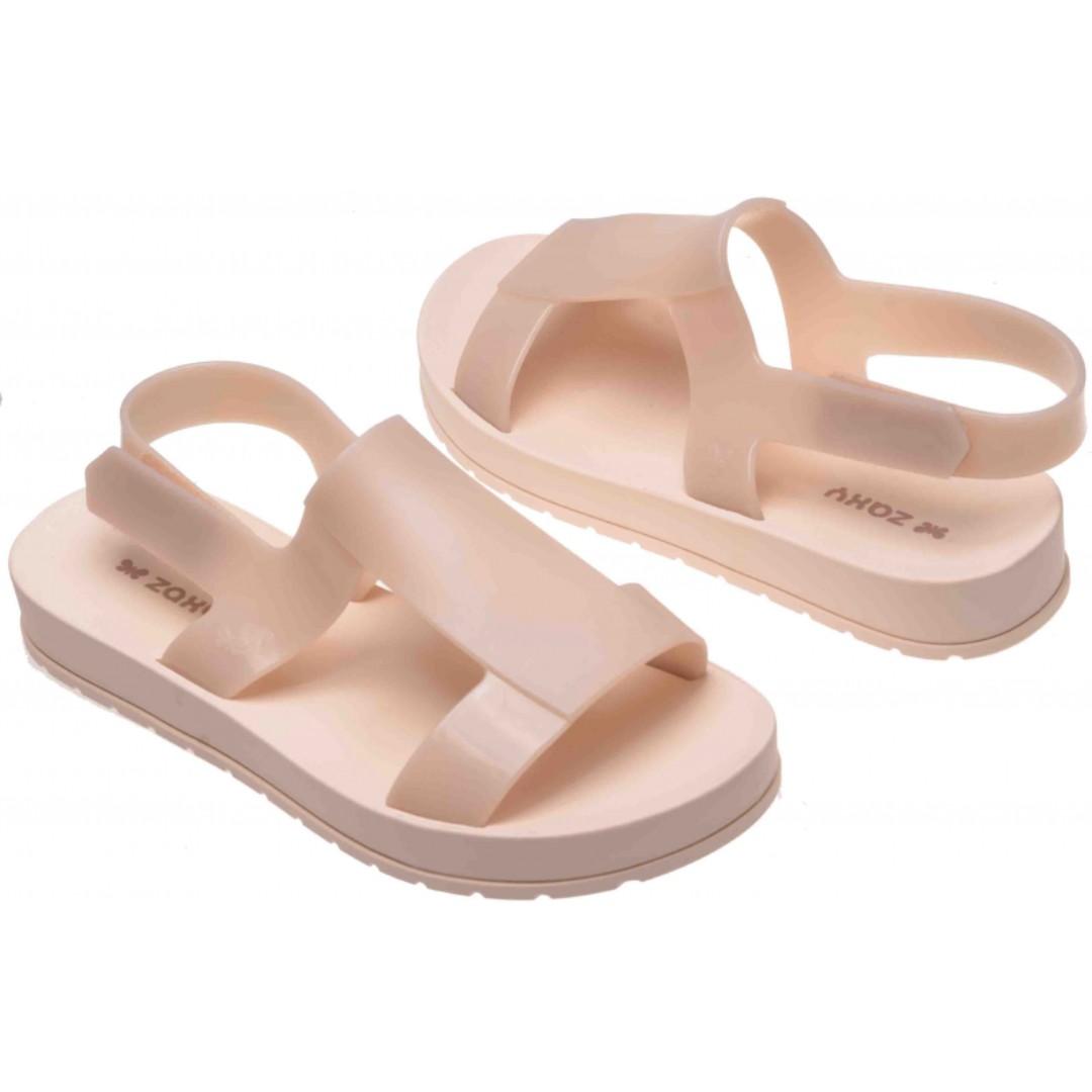 a58f4fc2d849 Genuine Brazilian Zaxy by Melissa Women Jelly Sandals Slip on Flat Shoes