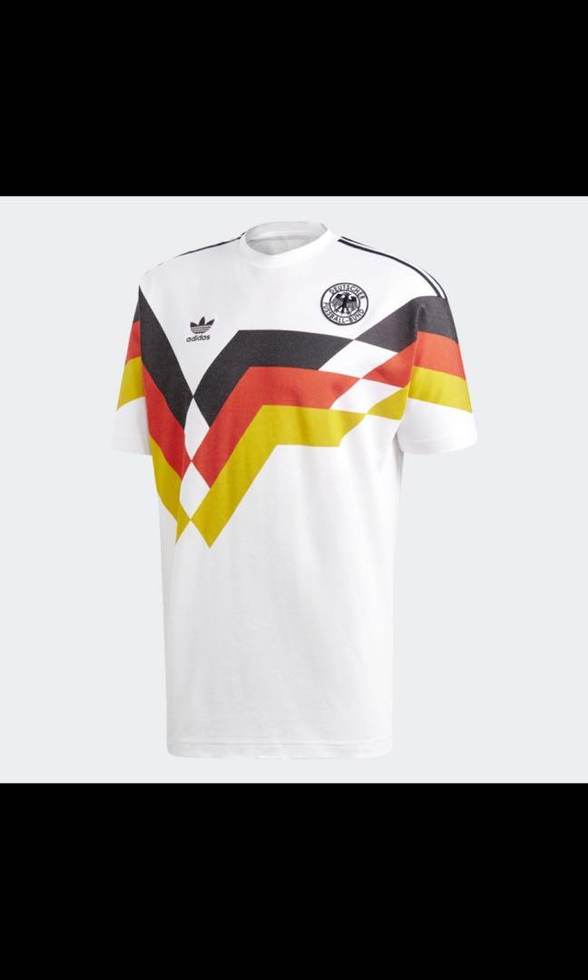Details about Adidas Originals Germany 1990 Retro Football Shirt S BNWT 2018 Official Reissue