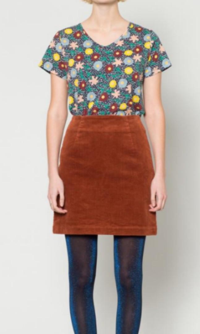 Gorman Mini Corduroy Skirt (6/8 AU)