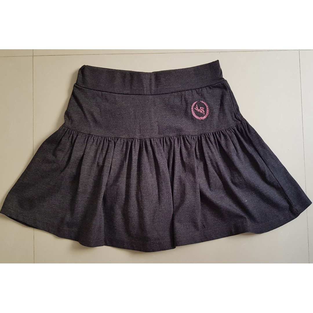 bc36d006df Grey Skort, Women's Fashion, Clothes, Dresses & Skirts on Carousell
