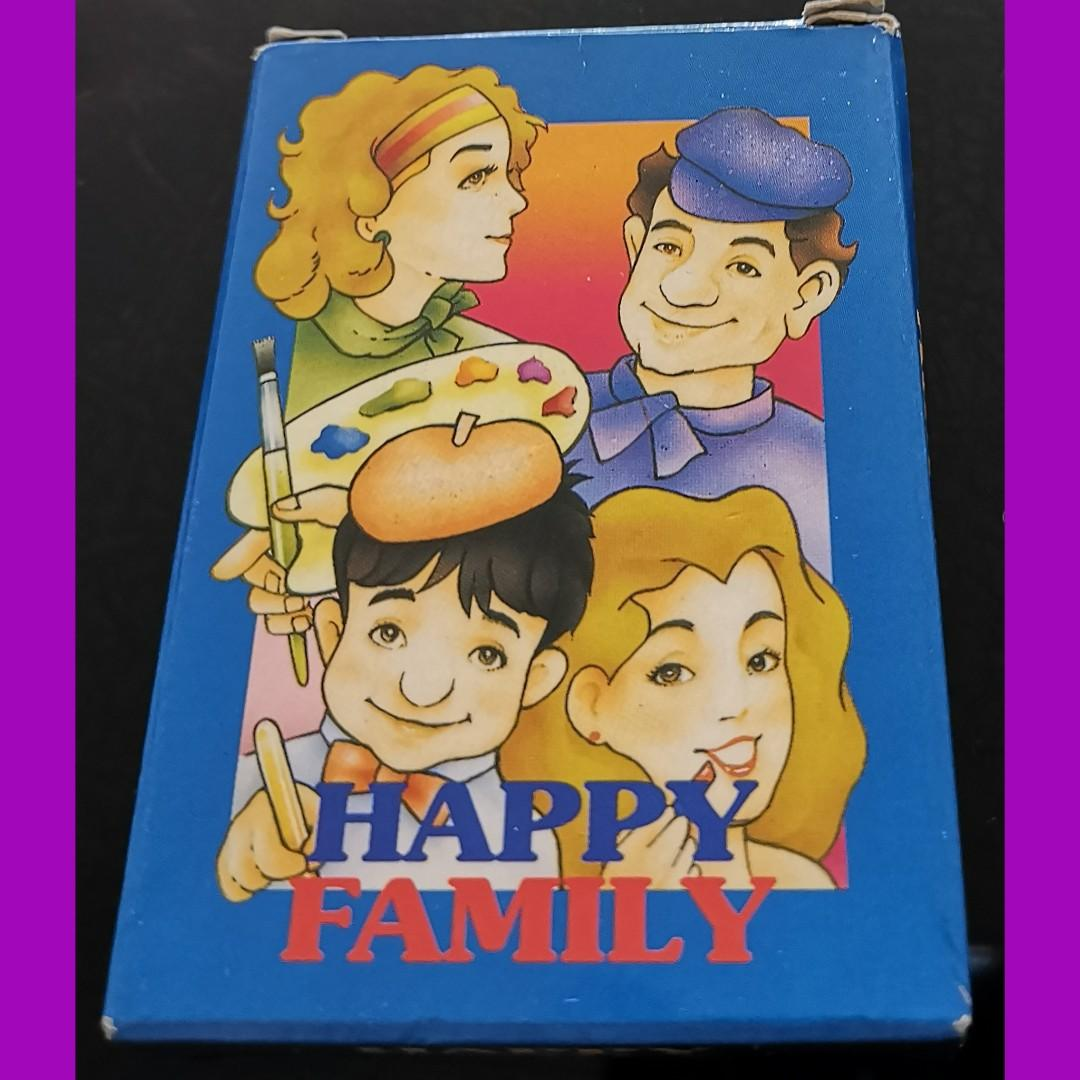 Happy Family Card Game Toys Games Board Games Cards On Carousell