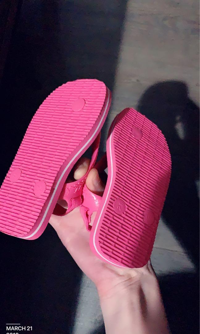 Havaianas 寶寶童鞋21號。全新。