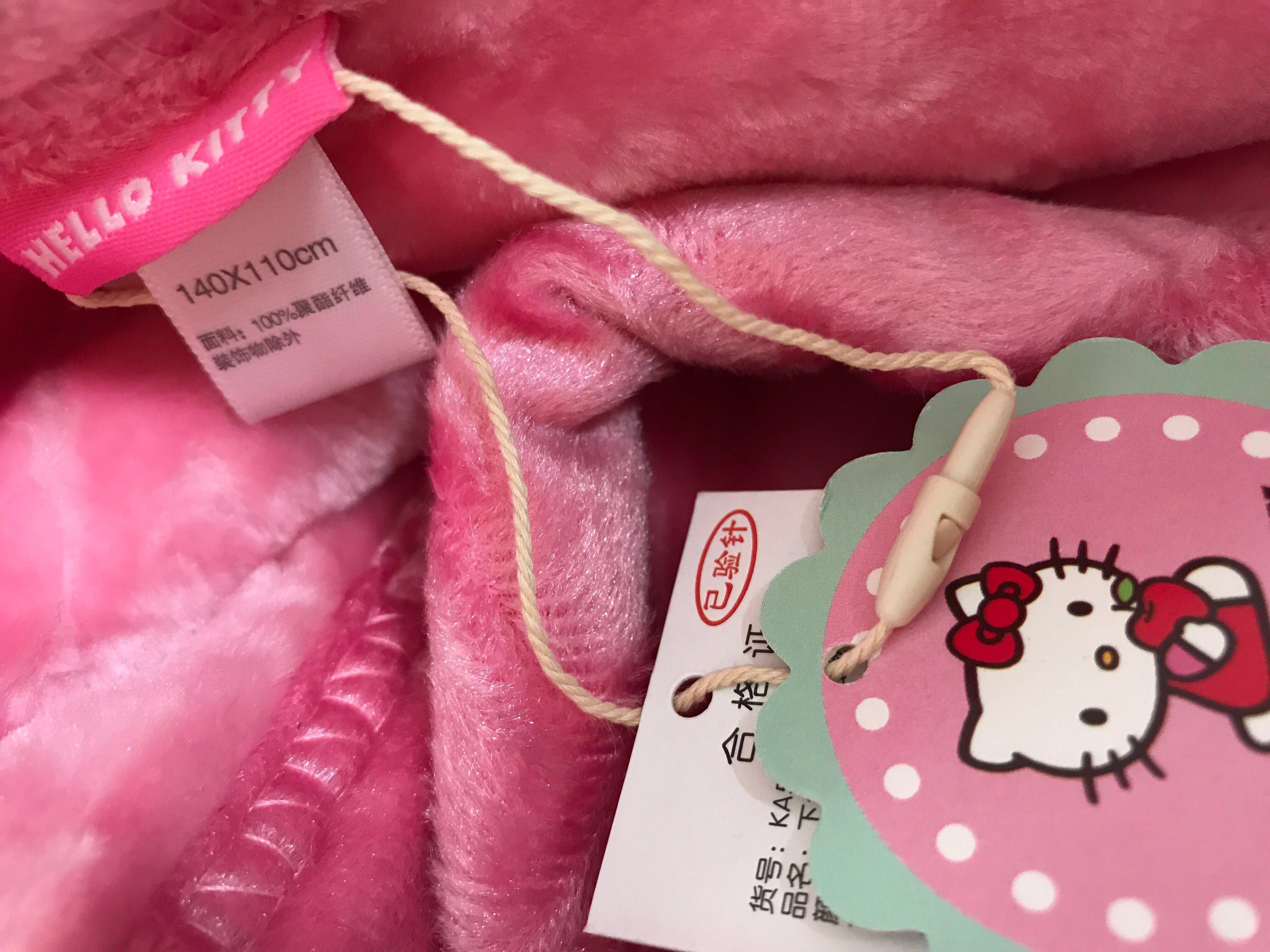 🈹Hello Kitty 嬰兒毛毯被