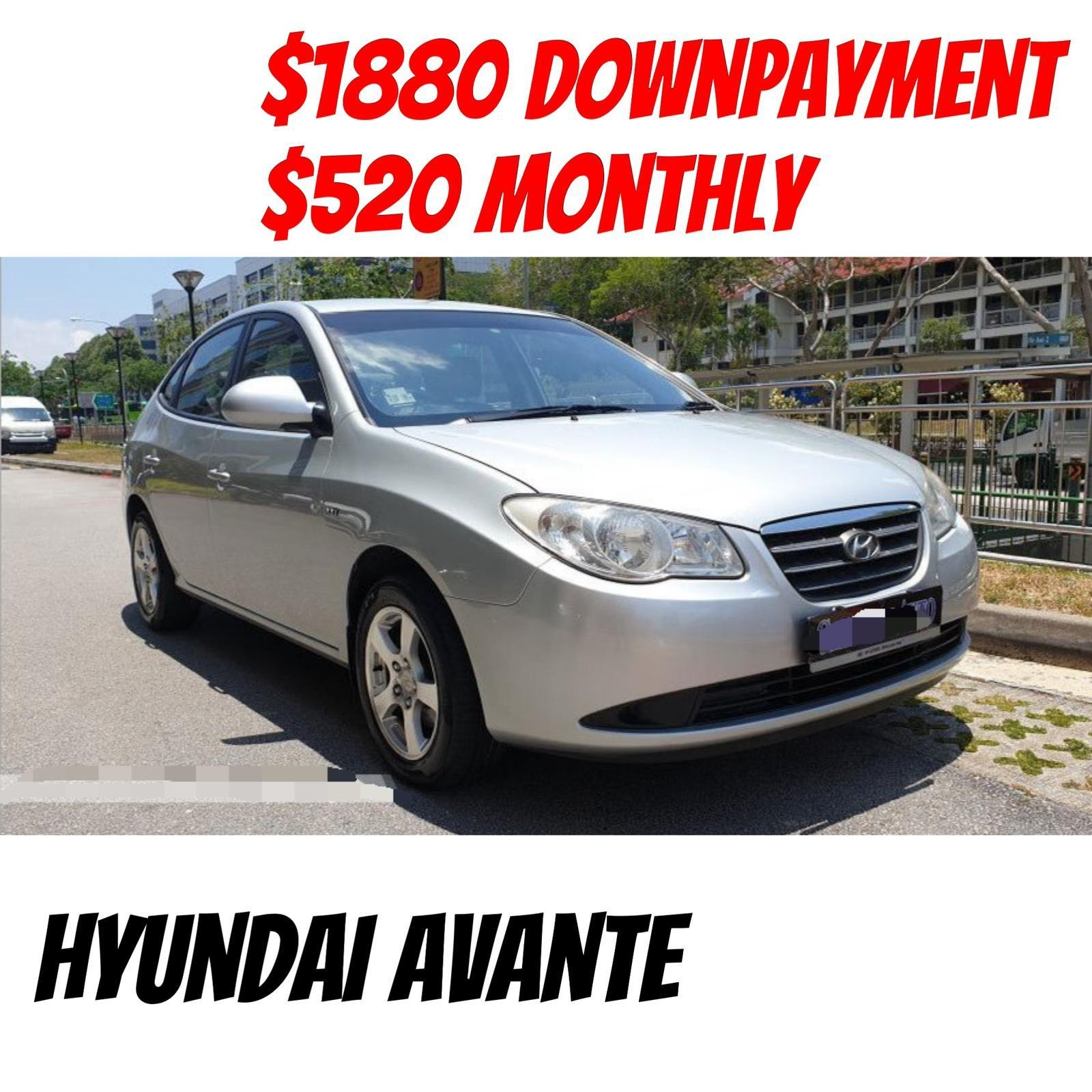 Hyundai Avante Only 1880 Downpayment Full Loan Cars Cars For