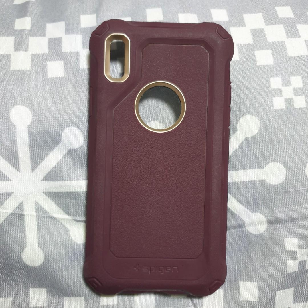 huge discount ef4b0 40e2f iPhone X / XS Spigen Case Pro Guard, Mobile Phones & Tablets, Mobile ...