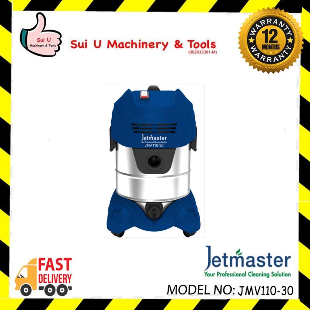 JETMASTER JMV110-30 Wet & Dry Vacuum Cleaner 30litre 1000w