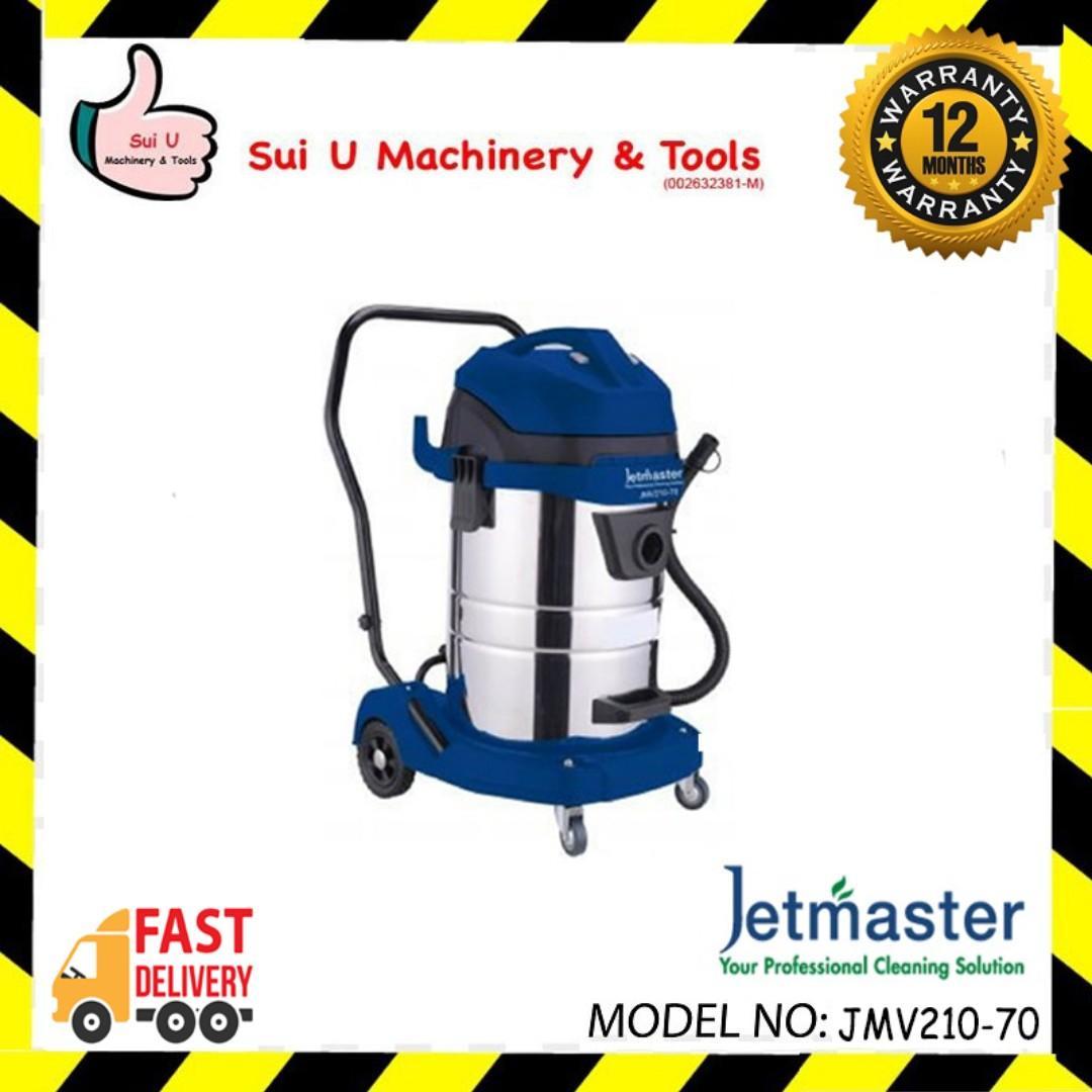 JETMASTER JMV210-70 Industrial Vacuum Cleaner 70litre 2000w