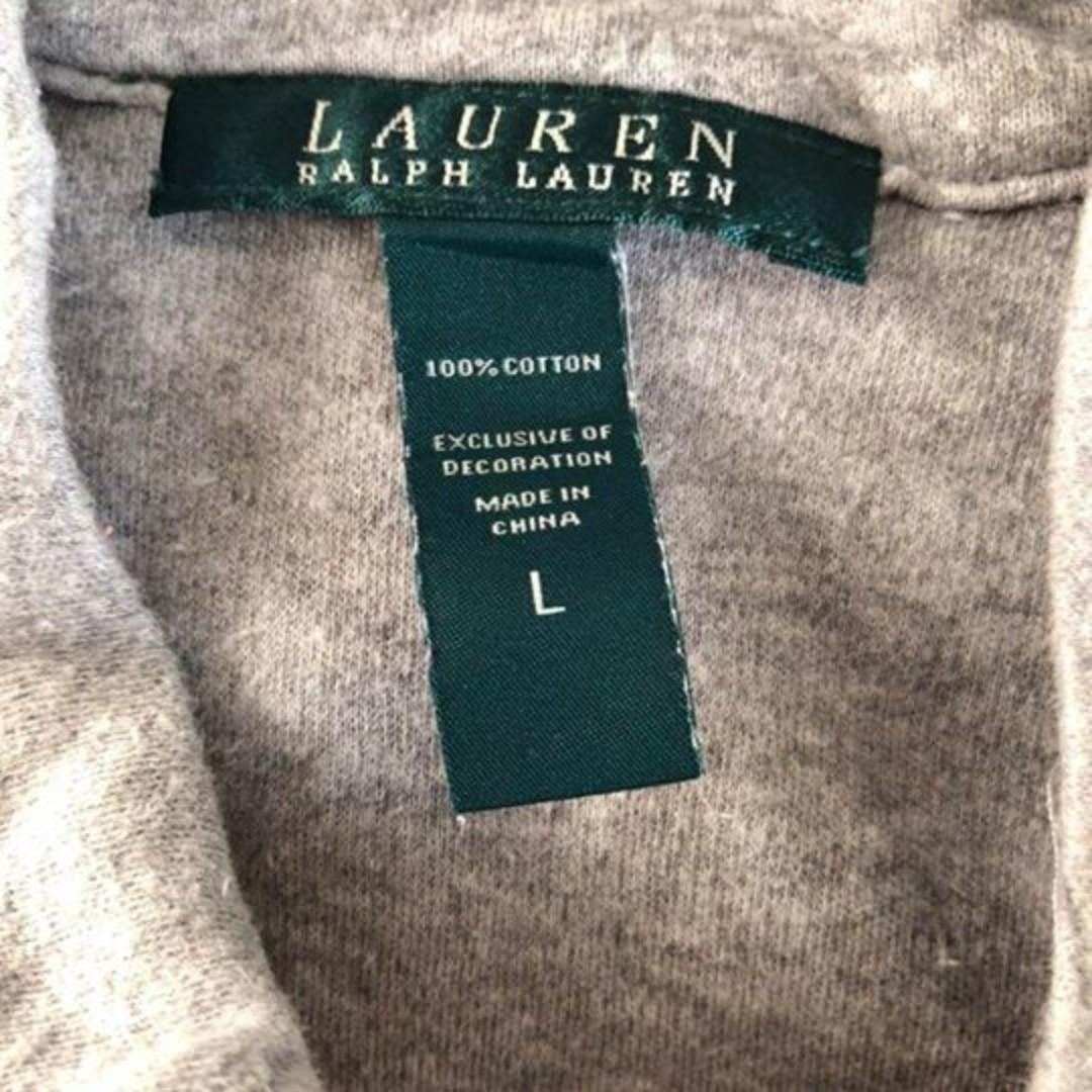 LAUREN by Ralph Lauren Vintage Grey Zip Jacket Women's
