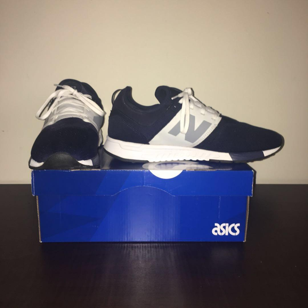 MENS New Balance 247 Navy/White