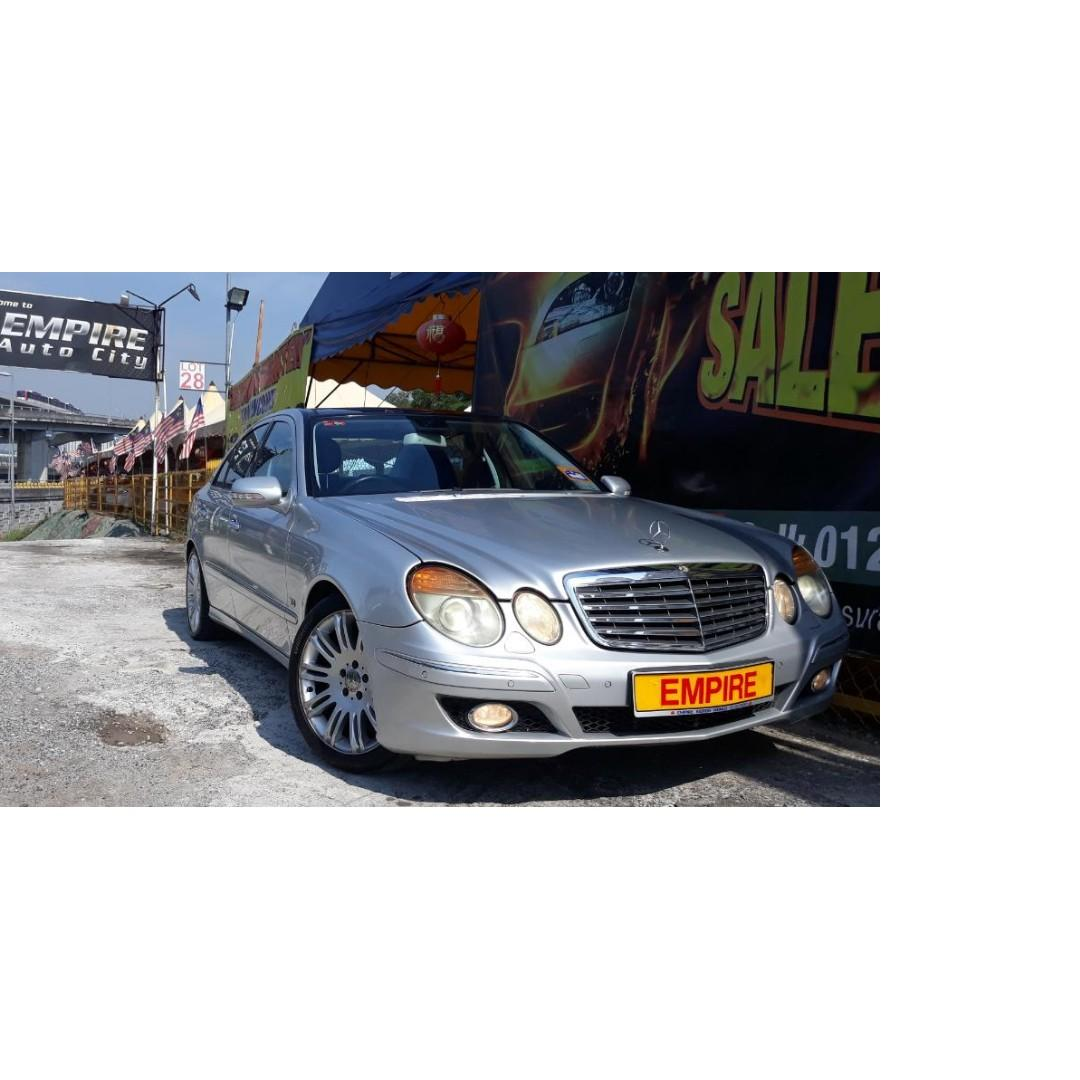 MERCEDES BENZ E230 AVANTGARDE 2.5 ( A ) V6 SPORT EDITION !! NEW FACELIFT !! PADDLE SHIFT SUNROOF MOONROOF PANORAMIC ROOF AND ETC !! PREMIUM FULL SPECS !! ( JXX 919 ) 1 CAREFUL OWNER !!