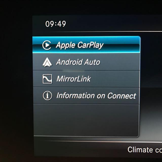 Mercedes: CarPlay Android-Auto Mirror-Link, Car Accessories