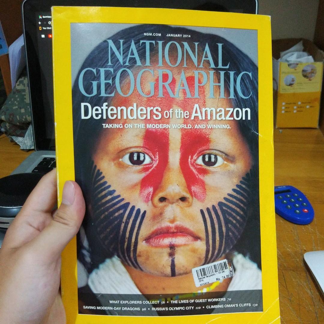 ‼️National Geographic Edisi Jan 2014‼️