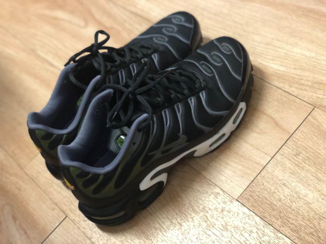 "sports shoes 1145c 4151d Nike Air Max Plus Tuned 1 Tn ""Black Legion Green"" Limited Edition"