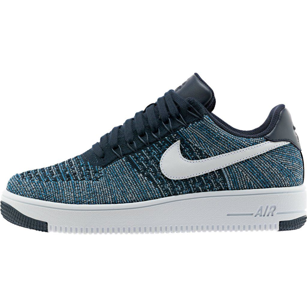 63822d59c345 Nike Airforce Low Flyknit Obsidian Colour  Worn Less tahan 5 times ...