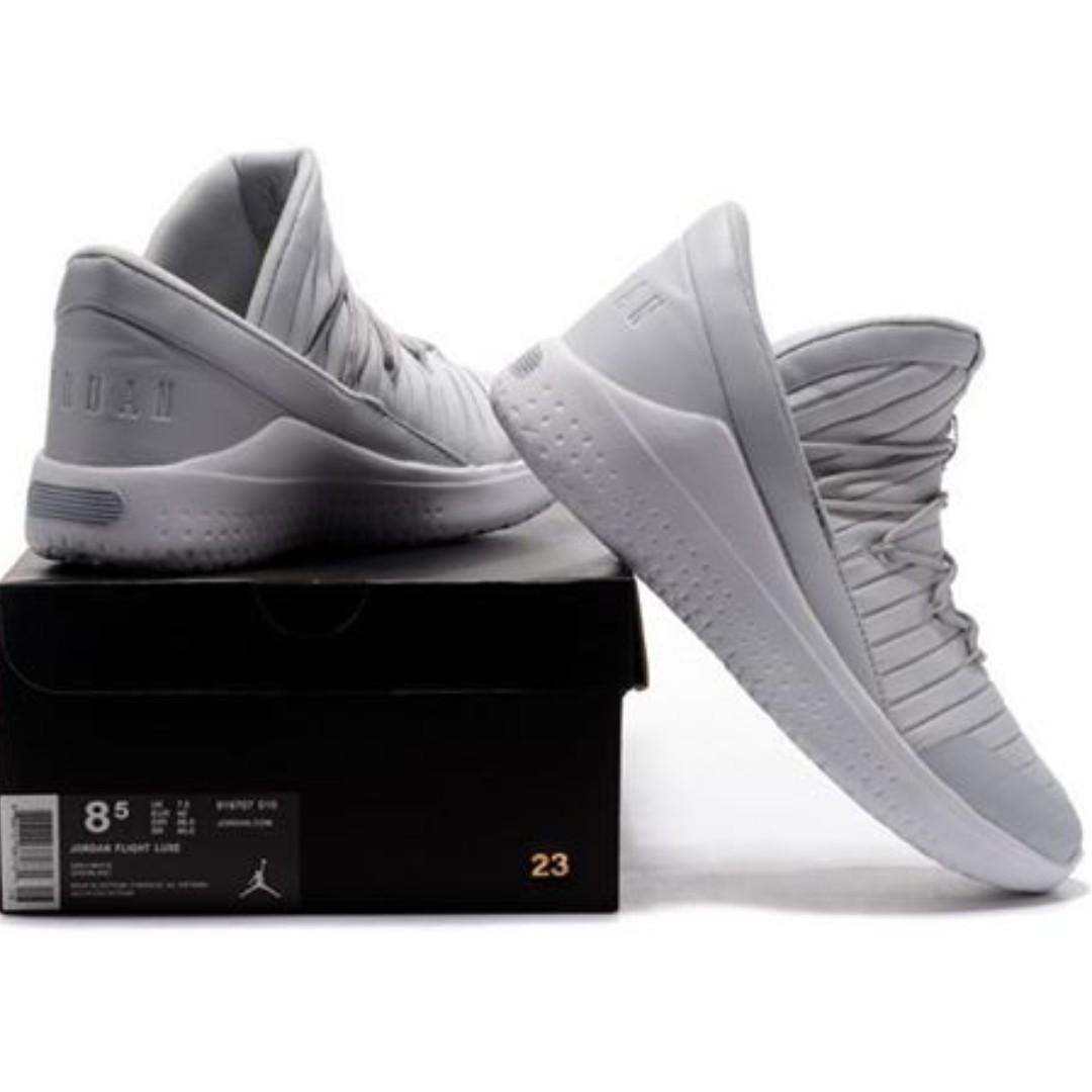 "Nike/Jordan Flight Luxe ""GREY"" US Men's Sizes 10 11 12"
