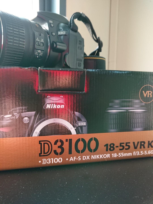 Nikon D3100 (special firmware)