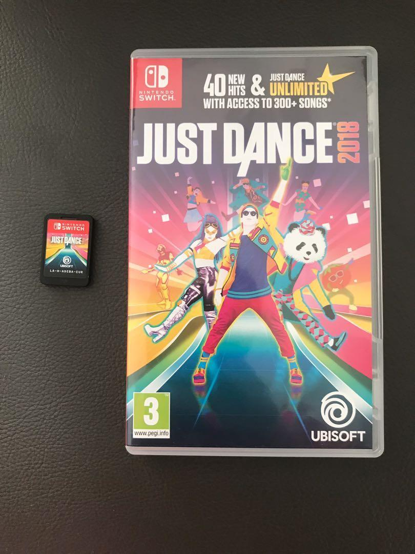 Nintendo Switch Game Just Dance 2018