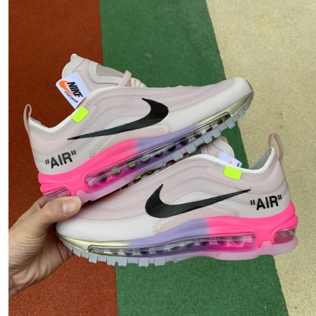 online retailer bba7d b4cda Off White X Nike Air Max 97 Serena William