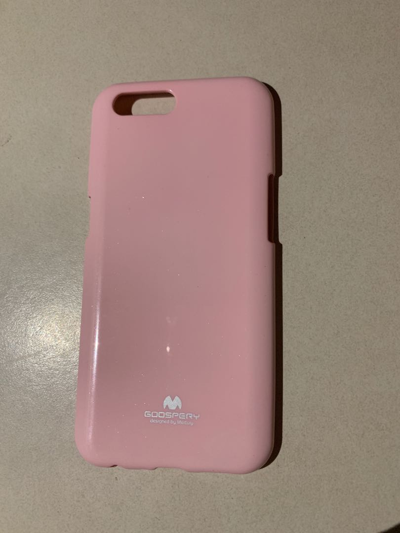 check out ba5cf aaf45 Oppo R11 pink silicon/rubber goospery case cover
