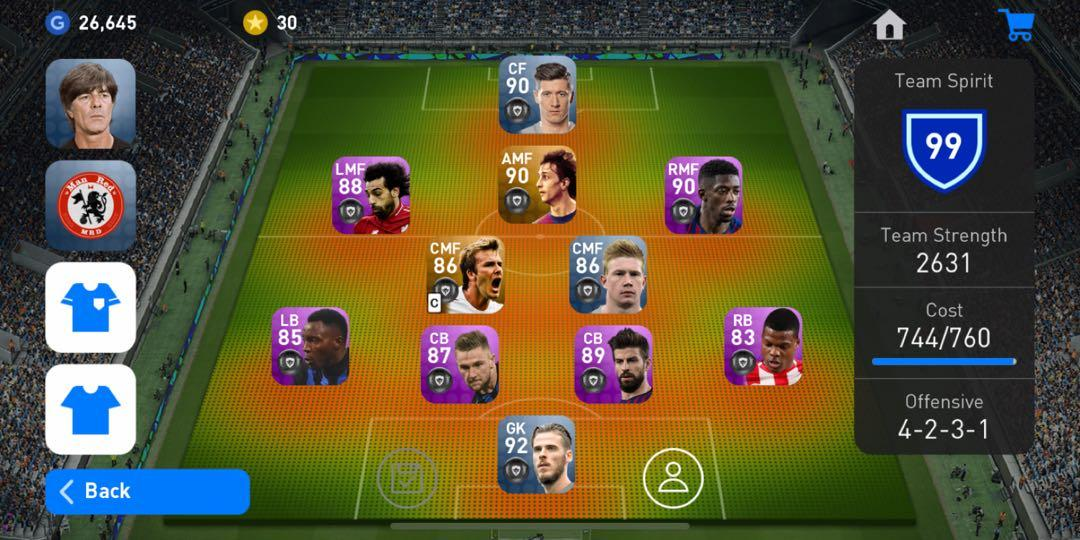PES 2019 Mobile, Toys & Games, Video Gaming, Video Games on