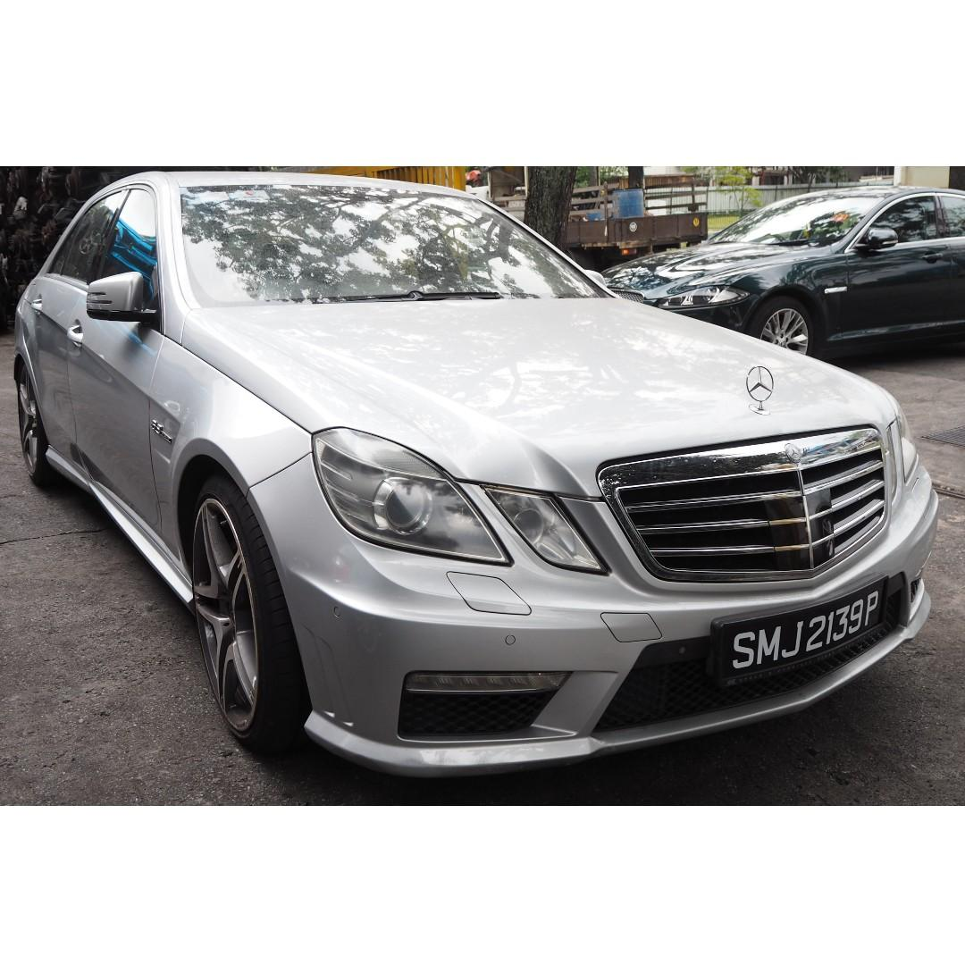 SCRAPPED) MERCEDES W212 E63 AMG 2009 PARTS FOR SALE (07533