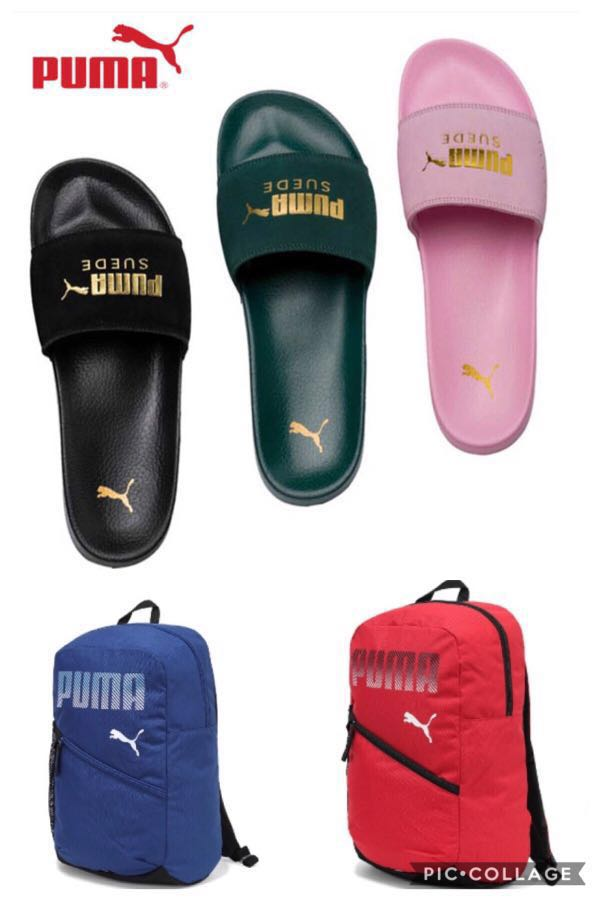 huge selection of cc00f 9aea1 PO] PUMA SUEDE LEADCAT SANDALS SLIPPERS UNISEX BACKPACK BAG ...