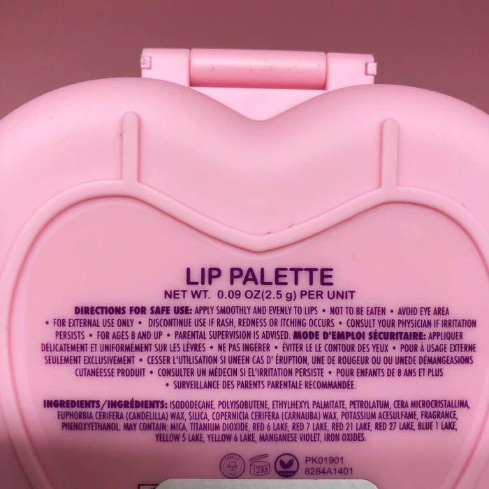 Polly Pocket Lip Palette