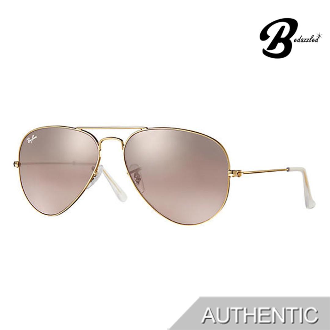 2ac65655a RAY-BAN AVIATOR GRADIENT RB3025001/3E58, Women's Fashion ...