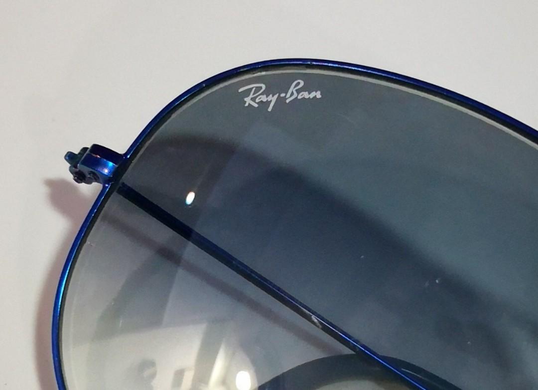 8fd17115b2d72 Ray-Ban RB3025 (Large) Aviator Blue Flash Lenses