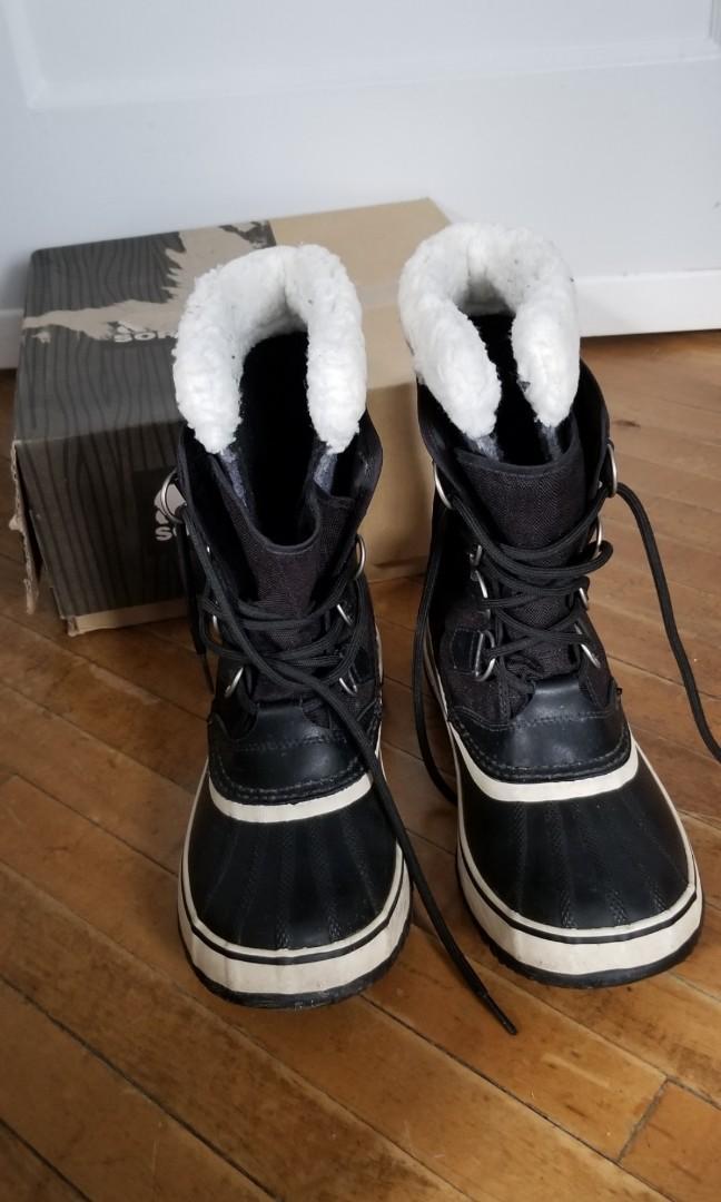 Sorel winter boots, size 8