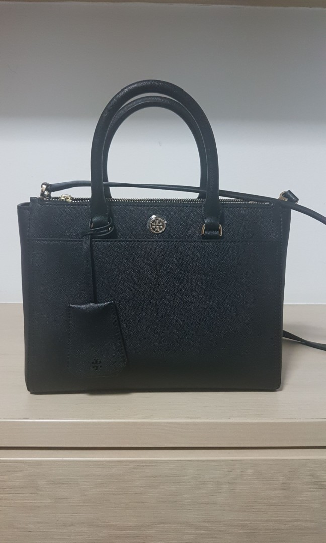4f0050c14b6c Tory Burch - Robinson small double zip with detachable sling
