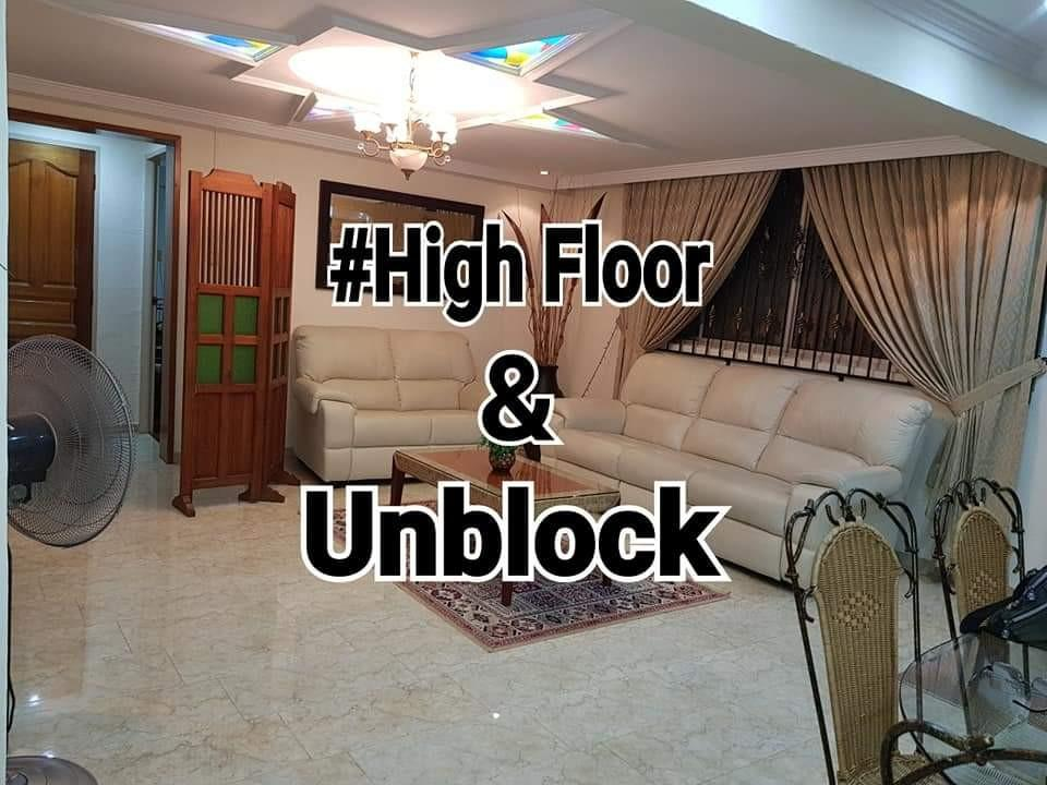 Blk 616 Hougang《Unblock View & High Floor》