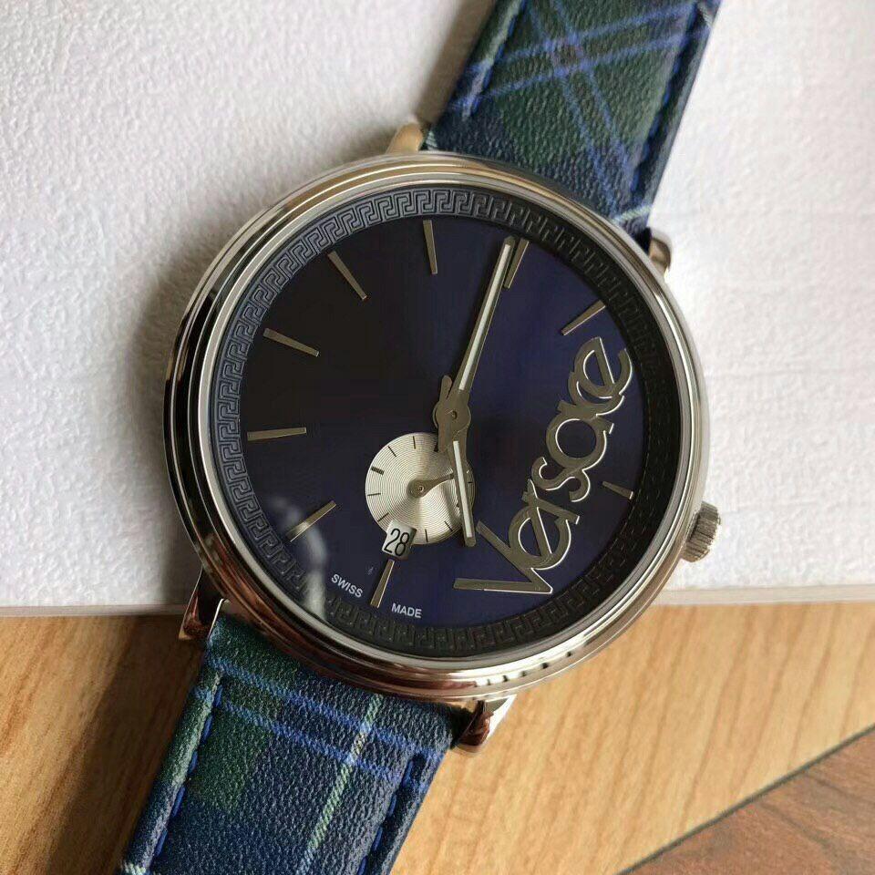 Versace V-Circle The Clans Edition Original Unisex Watch Wristwatch Men Watch Women watch