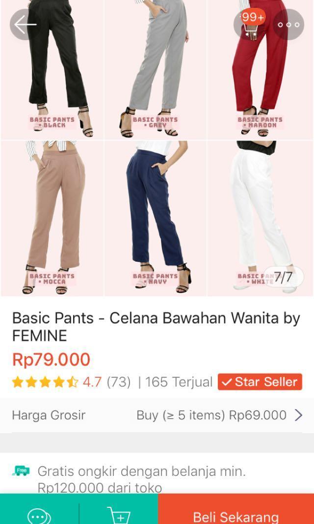 White Pants NEW