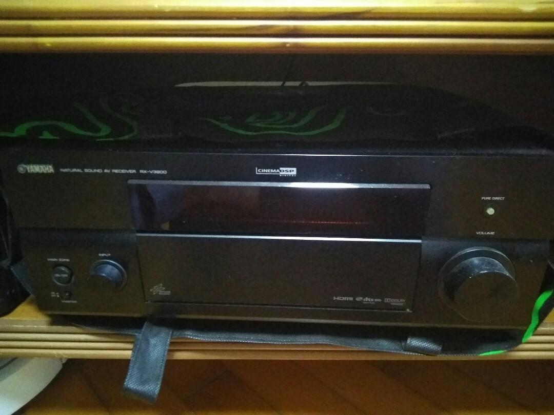 Yamaha RX-V3900 AV Amp