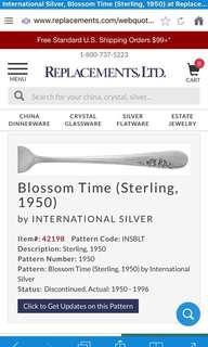 International Silverware - Blossom Time Pattern